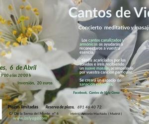 """Concierto Meditativo"""" Cantos de Vida"""""""