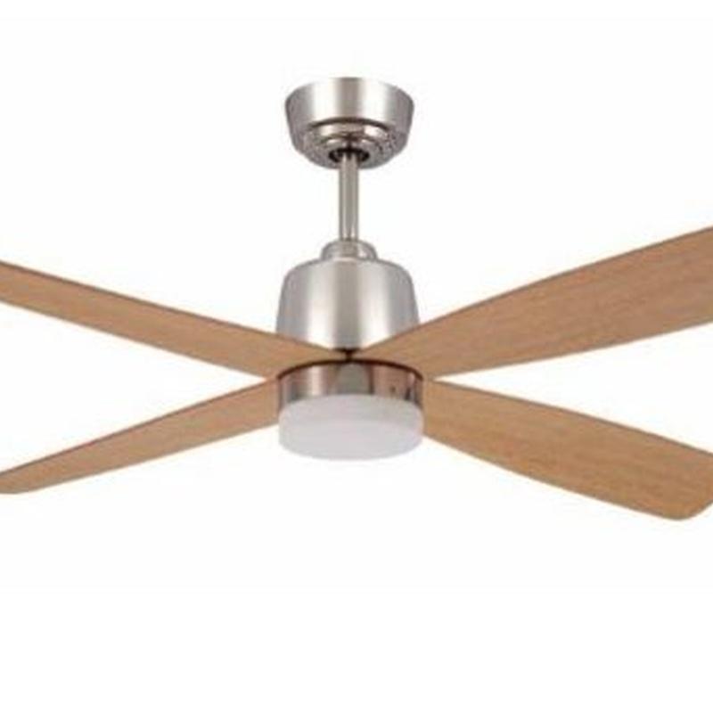 Ventilador modelo Corvete acero y madera