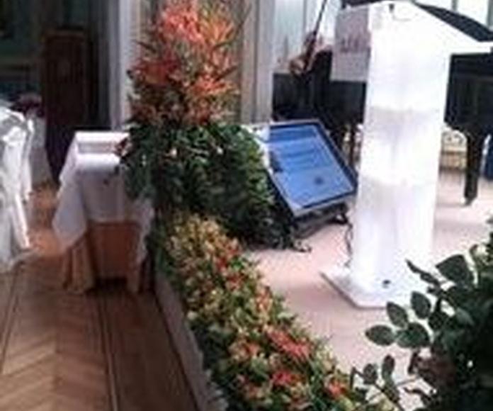 Servicio Integral Empresas: Servicios  de Ixora Floristas