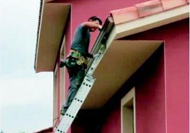 Instalación y reparación de canalones