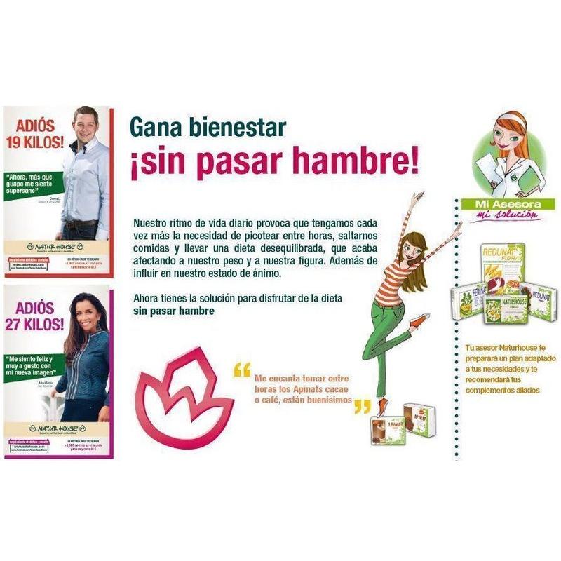 Gana bienestar sin pasar hambre: Dietética y nutrición de NaturHouse Moratalaz-Pavones