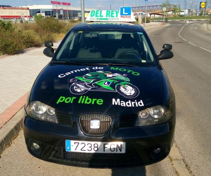 CARNET B COMPLETO: PERMISOS Y SERVICIOS de Autoescuela del Rey