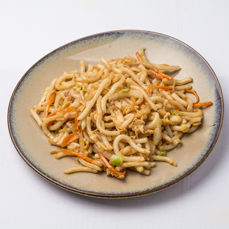 Udon frito con salsa soja: Carta de Restaurante Sowu