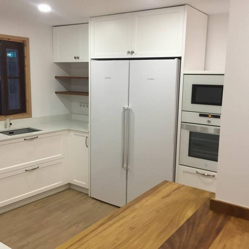 Instalación y montaje de cocinas: Servicios de Didecar Cocinas