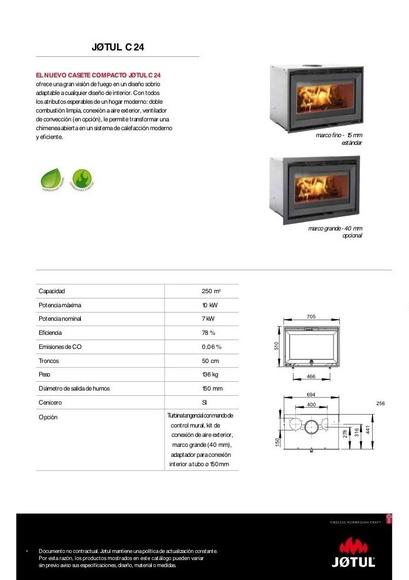 Insert C24: Catálogo of Chimeneas Ferrol