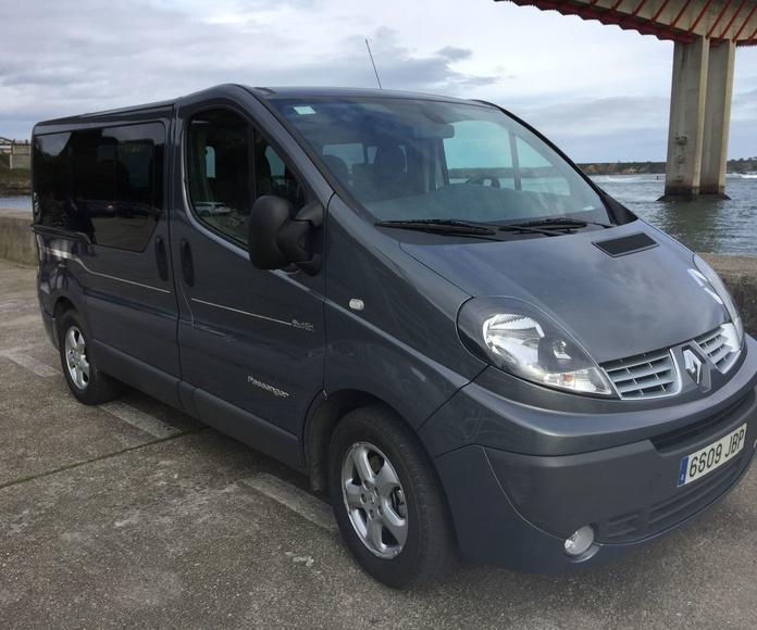Alquiler vehículo plazas Avilés