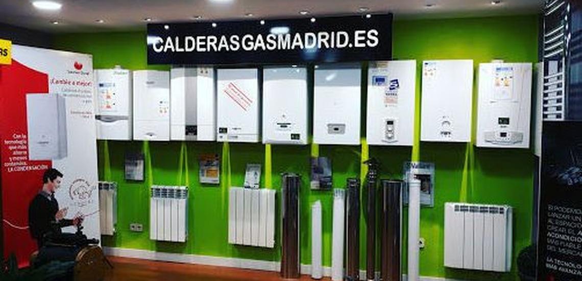 Venta de calderas baratas en Madrid centro