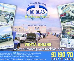 AUTODESGUACES DE BLAS PRESENTACIÓN
