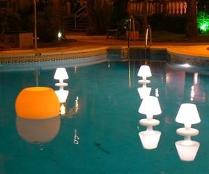 Lámparas de agua
