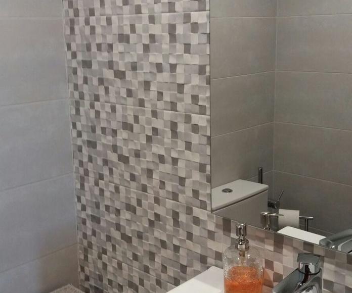 Reforma integral de cuarto de baño Albañilería José María Rozas Santander
