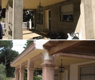 Restauración de fachadas: Productos y servicios de Modekons Prefabricados