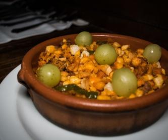 Nuestros Asados: Carta de Mesón Restaurante Antigua Casa Patata