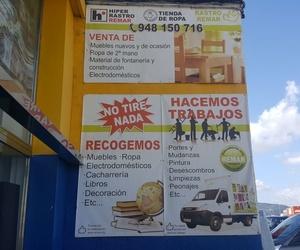 Recogida de muebles en Pamplona | Remar Navarra