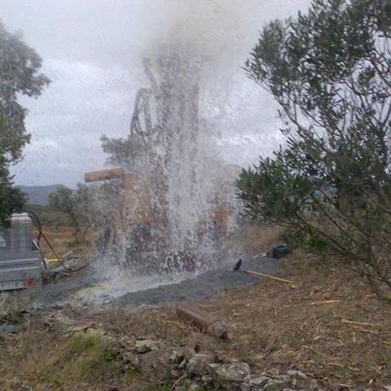 Instalación de pozos de agua : Servicios de Perforacions Pla de I'Estany