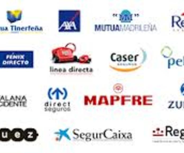 Trabajamos con todas las compañías: CATÁLOGO de Talleres Aparicio Autochiquero