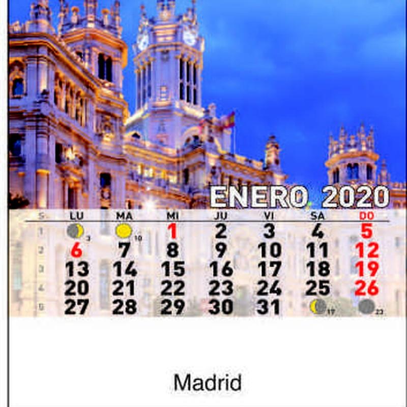 Cd ref 36 - Madrid: Nuestros Productos de Gráficas Kalendex