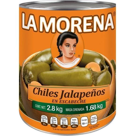 Chiles jalapeños La Morena : PRODUCTOS de La Cabaña 5 continentes