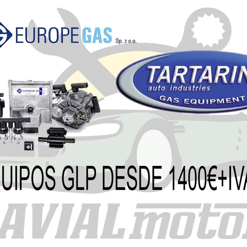 Instalación de sistema de carburante GLP (gas licuado del petróleo): Servicios mecánicos de Davial Motor