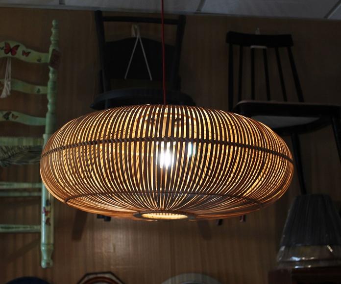 Lámpara de caña: Artículos  de Ruzafa Vintage