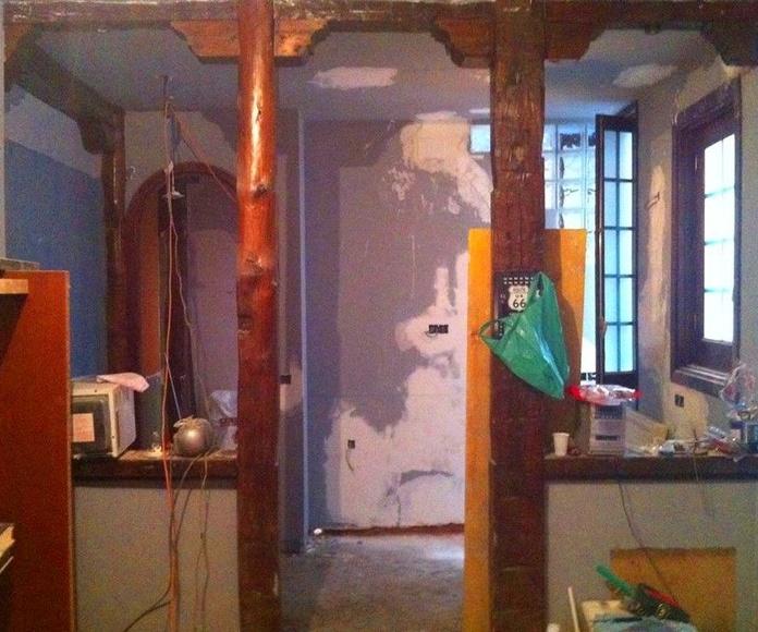 Rehabilitacion calle, amor de dios: Trabajos realizados de REFORMAS, INSTALACIONES Y CONSTRUCCION ARAGON SLU