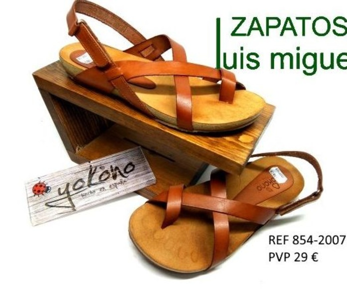 sandalias de dedo y hebilla yokono: Catalogo de productos de Zapatos Luis Miguel