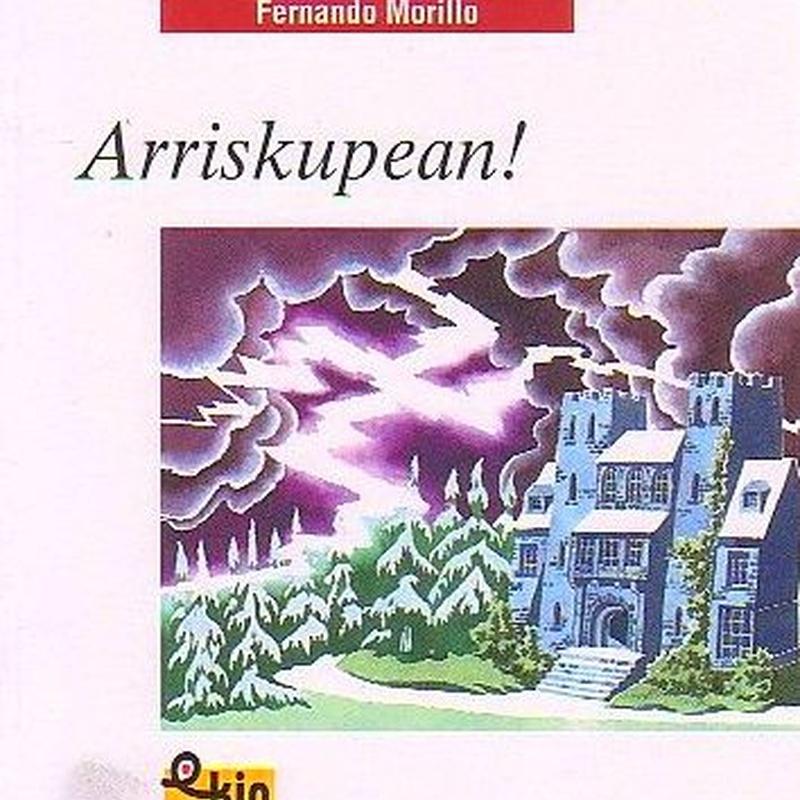 ARRISKUPEAN. Fernando Morillo. IBAIZABAL  ISBN: 978-84-8325-731-9