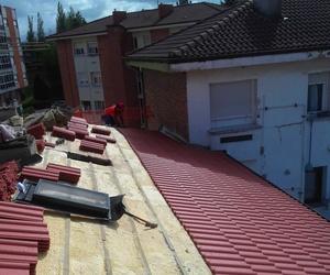 Reparación de goteras en tejados de Asturias