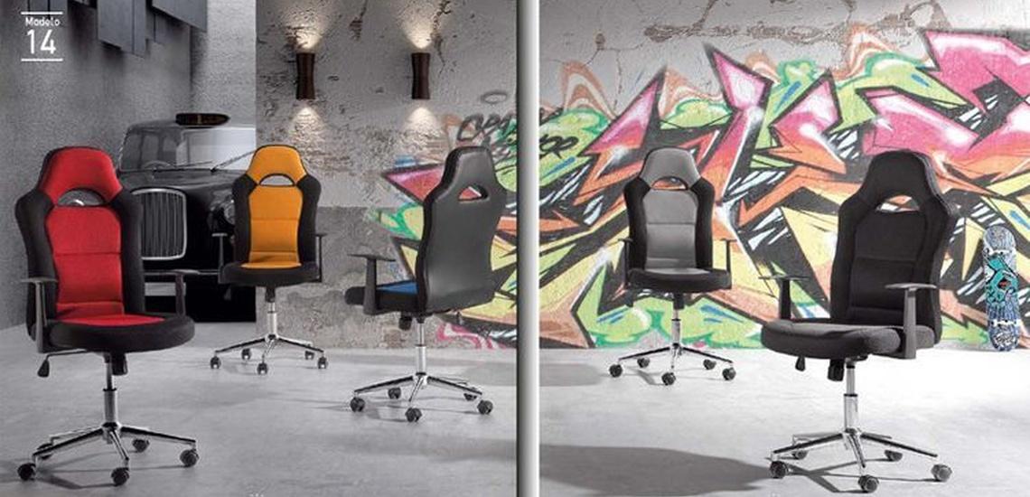 Dormitorios juveniles a medida en Getafe: sillas de estudio