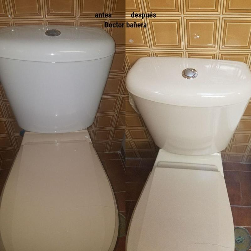 esmaltado de cisterna: Servicios de DOCTOR BAÑERA RESTAURACIONES FIVE STARS