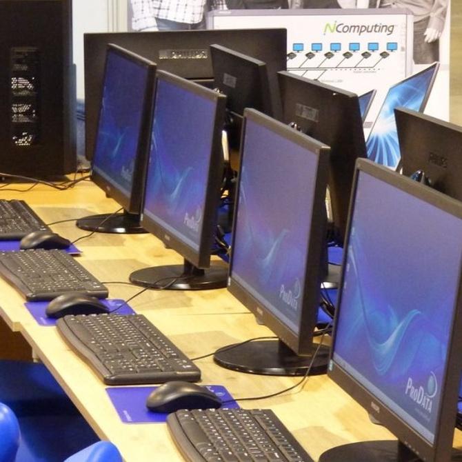 La limpieza de ordenadores y otros aparatos