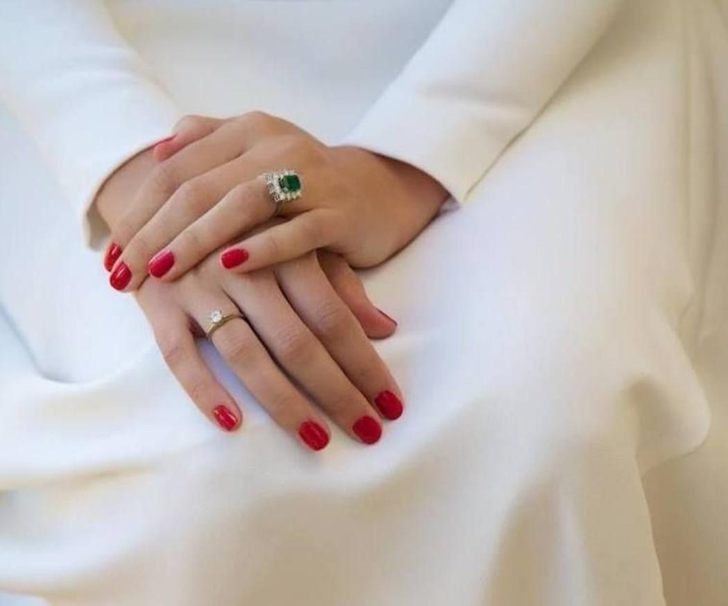 Unas uñas perfectas para la novia