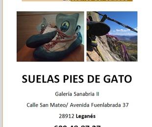 SUELAS PIE DE GATO.