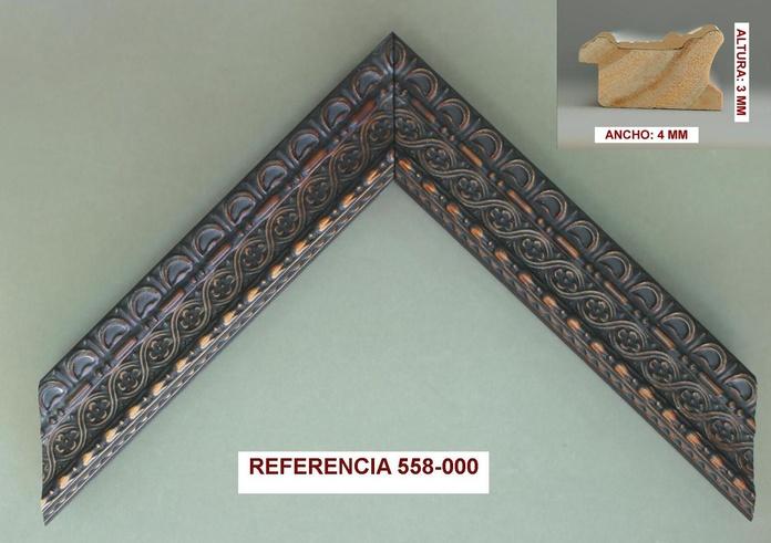 REF 558-000: Muestrario de Moldusevilla