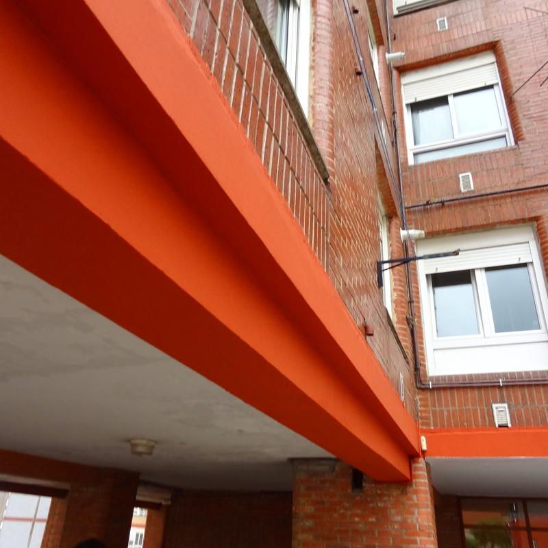 Reparación de fachada Torrelavega-Santander.