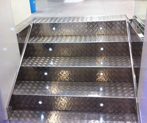 Escaleras acero inoxidable