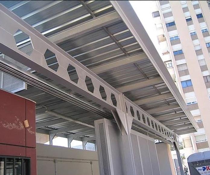 Estructuras metálicas: Productos de Metalistería Barceló