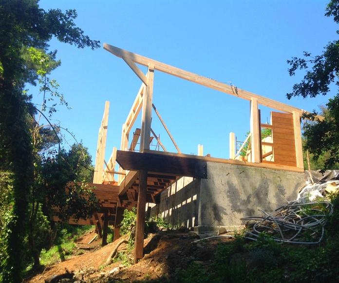Fabricación y montaje de casas de madera Tenerife