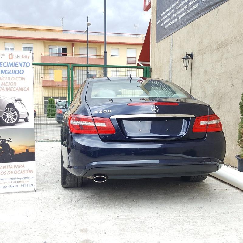 Mercedes E: Venta de vehículos de Luxury Cars DG