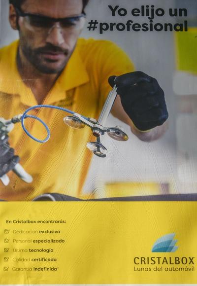 Campaña de televisión 25 aniversario de Cristalbox en Santander