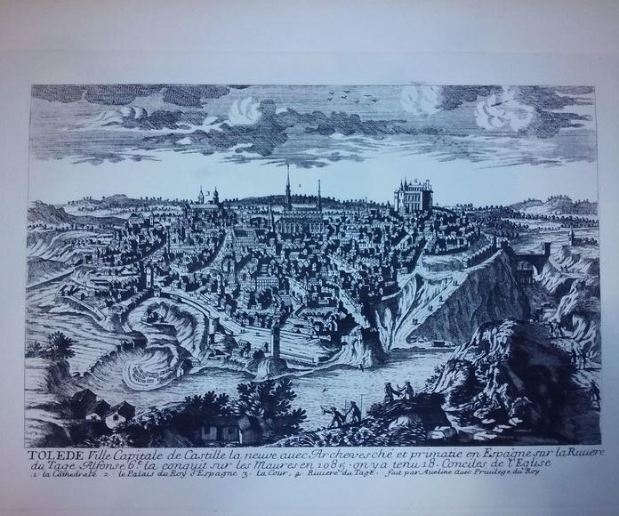Vista de Toledo  Autor: Aveline