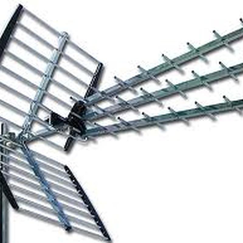 Antenas TV: NUESTROS SERVICIOS de Antenas EAG