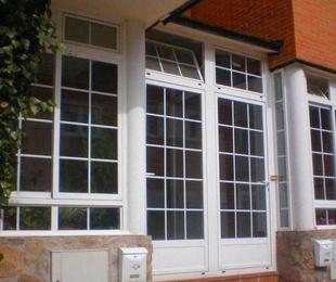 Colocación de ventanas, ventanales y puertas cristaleras de aluminio o pvc
