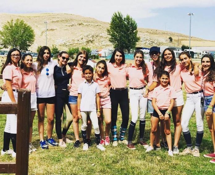 Coleccionando medallas -  Campeonato de España de ponis de CCE 2019