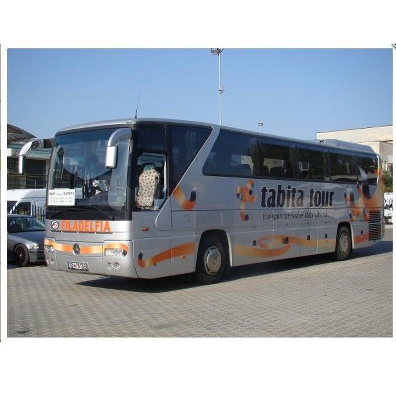 Transportes a Rumanía: Tarifas: Servicios de Tabita Tour Madrid (Meco)