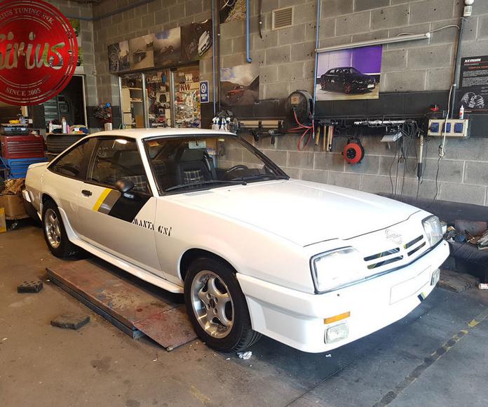 Opel Manda - Llantas y neumáticos