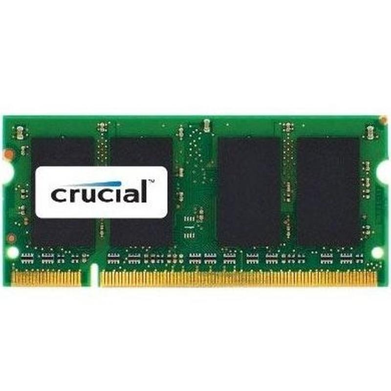 Crucial CT2G2S667MCEU soDim 2GB DDR2 667MHz MAC : Productos y Servicios de Stylepc
