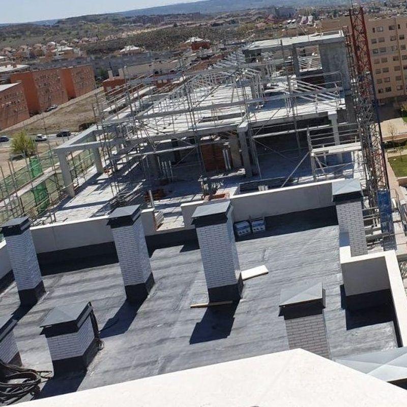 Impermeabilización y Aislamiento de terrazas: Servicios de IMPERGAM