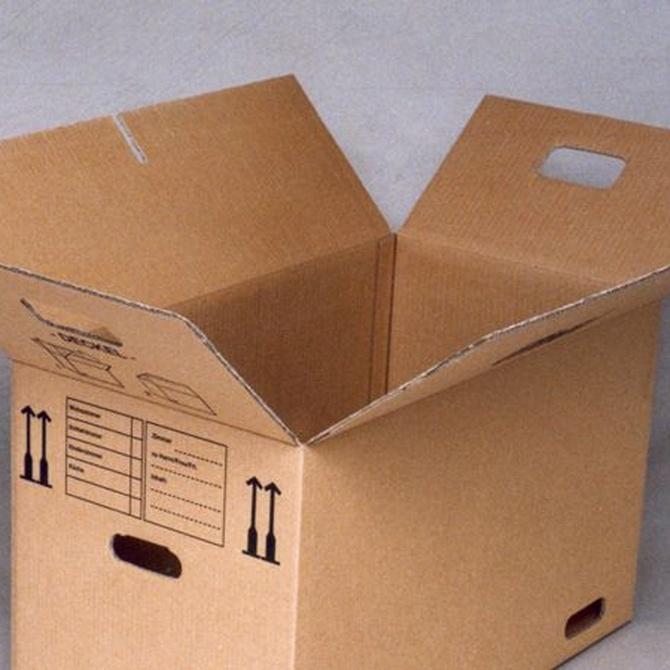 ¿Qué significan los símbolos que hay en las cajas de cartón?