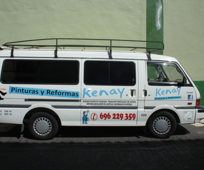 Reformas en general: Servicios de Pinturas y Reformas Kenay