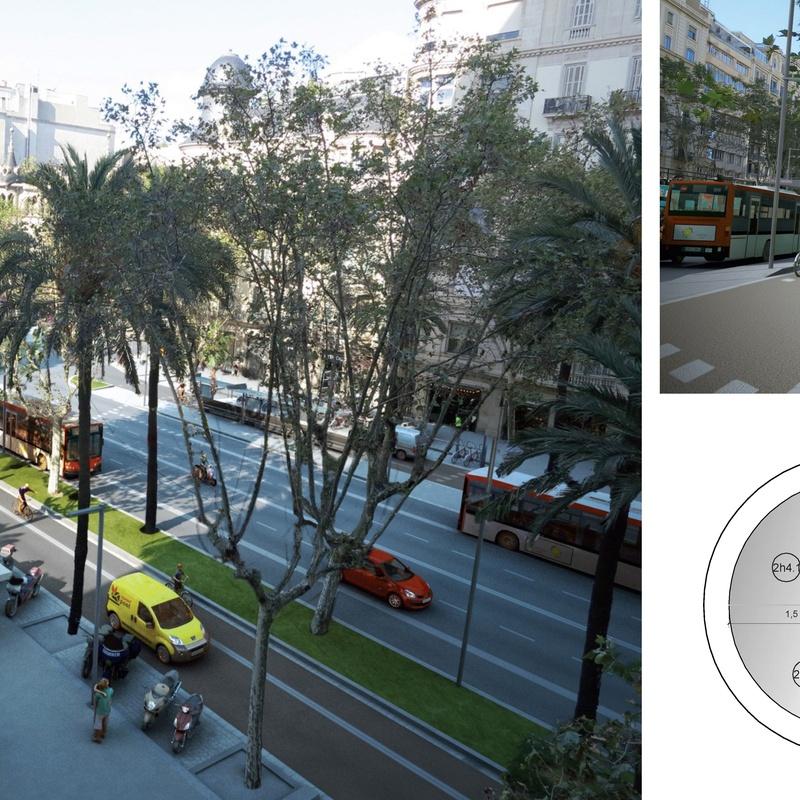 P. M. y D. O. de la reforma de la Av. Diagonal de Barcelona: Trabajos de MasterPlan